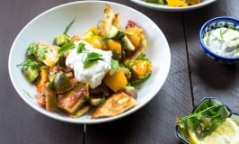 Heirloom Tomato Fattoush Salad