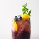 Blueberry Mango Mojito #BoozeWeek #Giveaway