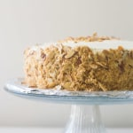 Burnt Almond Torte Cake