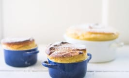Orange Spiced Pumpkin Souffle