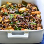 Savory Sausage and Onion Bread Pudding