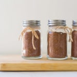 Homemade Sazon seasoning mix makes a great gift with a small recipe card.