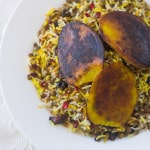 Adas Polow (Persian Rice and Lentils)
