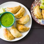 Brisket Empanadas with Passion Fruit Chimichurri