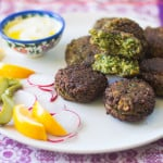 Fava Bean Falafel {Guest Post}