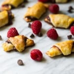 Chocolate Raspberry Walnut Rugelach