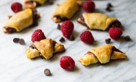 Chocolate Raspberry Walnut Rugelach