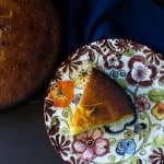 Meyer Lemon Almond Cake with Simple Syrup