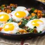 Butternut Squash Prosciutto Breakfast Hash (and Whole30 Recap)