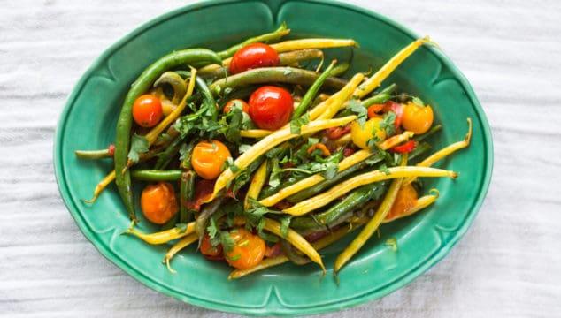 Summer Fasulye (Turkish Green Beans)