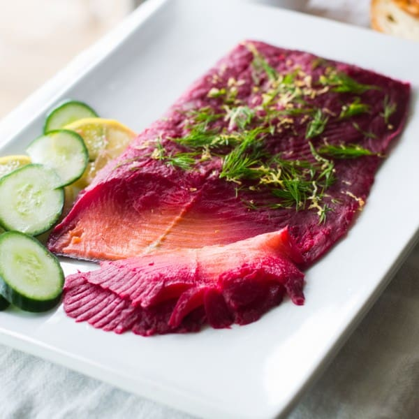 Beet Cured Lox