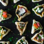 Savory Hamantaschen Bar with 6 Different Fillings
