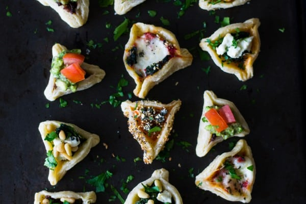 Savory Hamantaschen with 6 Different Fillings
