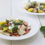 Summer Fruit Caprese Salad