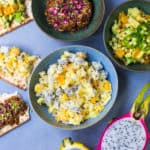 Passover Charoset Three Ways: Tropical Charoset, Persian Dried Fruit Charoset and Tex-Mex Salsa inspired Charoset