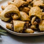 Rosemary and Fig Rugelach with Caramelized Walnuts