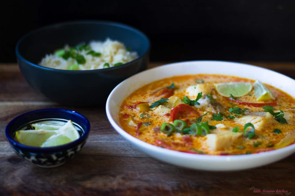 An impressive and easy Brazilian fish stew, moqueca can use any fish you have on hand and is flavored with coconut milk and bright lime zest.