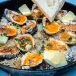 Charbroiled Oysters with Garlic Butter and Parmesan
