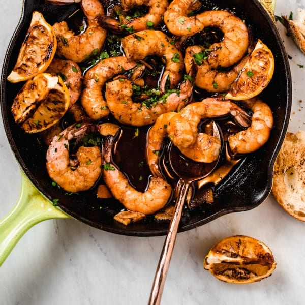 Spanish Garlic Shrimp with Paprika and Lemon